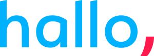 hallo_logo_cmyk_negatief_blauw